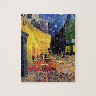 van Gogh - Cafe Terrace at Night (1888) Puzzle