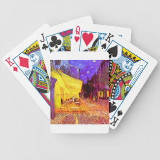 Van Gogh Cafe Terrace at Night Bicycle Playing Cards