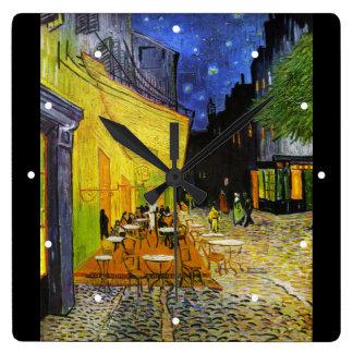 """Van Gogh, """"Cafe Terrace at Night"""" Clock"""