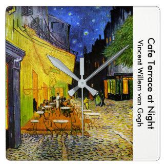 "Van Gogh, ""Cafe Terrace at Night"" Clocks"
