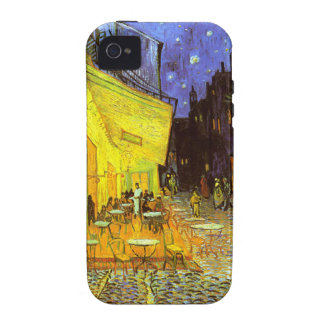 Van Gogh: Cafe Terrace at Night iPhone 4 Case