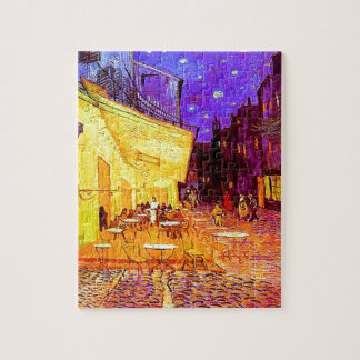 Van Gogh Cafe Terrace at Night Jigsaw Puzzle