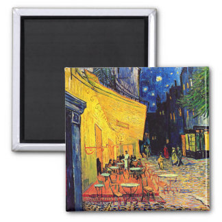 Van Gogh Cafe Terrace At Night Fridge Magnets