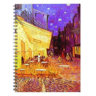Van Gogh Cafe Terrace at Night Notebooks