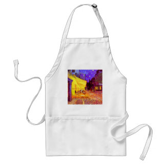 Van Gogh Cafe Terrace at Night Standard Apron