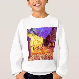Van Gogh Cafe Terrace at Night Sweatshirt