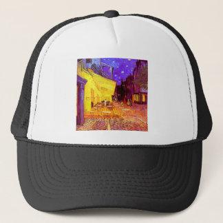 Van Gogh Cafe Terrace at Night Trucker Hat