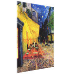 Van Gogh; Cafe Terrace at Night, Vintage Fine Art