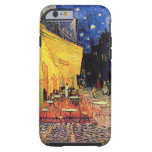 Van Gogh; Cafe Terrace at Night, Vintage Fine Art Tough iPhone 6 Case
