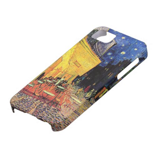Van Gogh; Cafe Terrace at Night, Vintage Fine Art iPhone 5 Cover