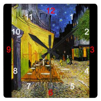 "Van Gogh, ""Cafe Terrace at Night"" Wall Clocks"