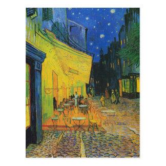 Van Gogh   Cafe Terrace Change of Address Postcard