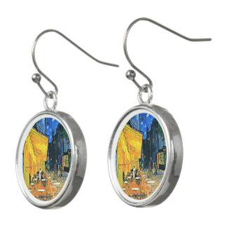 Van Gogh - Cafe Terrace Earrings