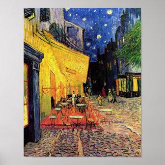 Van Gogh Cafe Terrace F467 Vintage Fine Art Poster