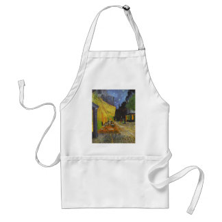 Van Gogh Cafe Terrace Post-Impressionist Standard Apron