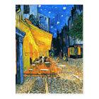 Van Gogh - Cafe Terrace Postcard