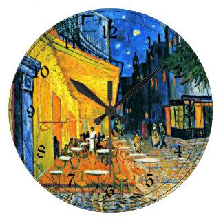 Van Gogh: Cafe Terrace Wallclocks