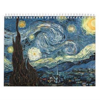 Van Gogh Calendar