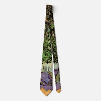 Van Gogh Chestnut Tree in Blossom Vintage Fine Art Tie