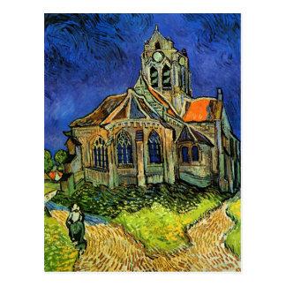 Van Gogh Church at Auvers (F789) Fine Art Postcard