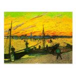 Van Gogh Coal Barges (F437)