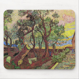 Van Gogh Corner of Saint-Paul Hospital and Garden Mouse Pad
