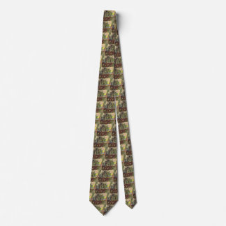 Van Gogh Corner of Saint-Paul Hospital and Garden Tie