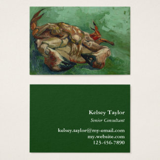 Van Gogh | Crab on its Back | 1888 Business Card