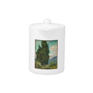 Van Gogh Cypresses