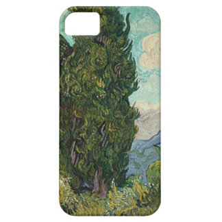 Van Gogh Cypresses Barely There iPhone 5 Case