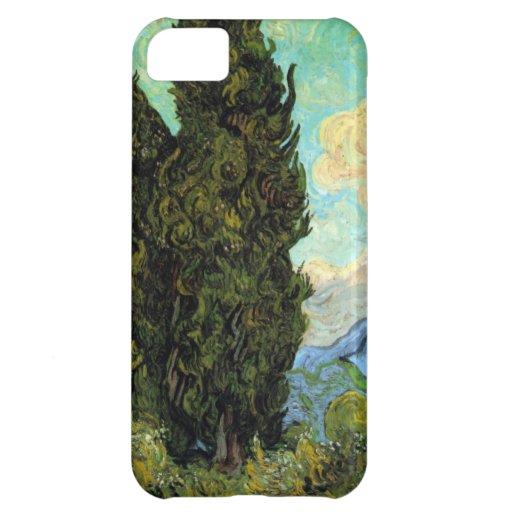 Van Gogh Cypresses iPhone 5C Case