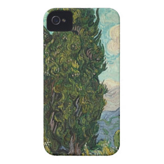 Van Gogh Cypresses iPhone 4 Cover