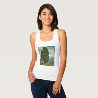 Van Gogh Cypresses Singlet