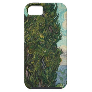 Van Gogh Cypresses Tough iPhone 5 Case