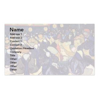 Van Gogh - Dance Hall In Arles Standard Business Cards