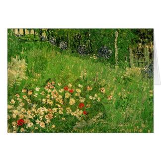 Van Gogh Daubigny s Garden Le Jardin de Daubigny Greeting Card