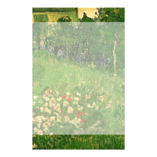 Van Gogh Daubigny's Garden, Vintage Fine Art Personalized Stationery
