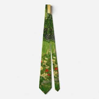 Van Gogh Daubigny's Garden, Vintage Fine Art Tie