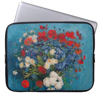 """Van Gogh & Elizabeth Flowers - Laptop Sleeve 15"""""""