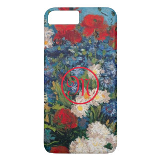 Van Gogh & Elizabeth Flowers Monogram - iPhone 8 Plus/7 Plus Case