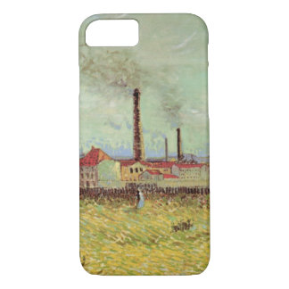 Van Gogh Factories at Asnieres, Vintage Fine Art iPhone 7 Case