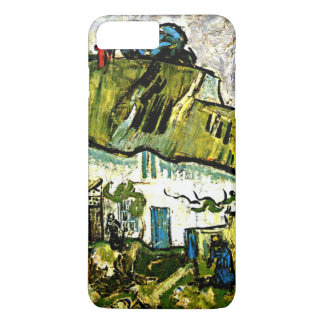Van Gogh - Farmhouse with Two Figures iPhone 7 Plus Case