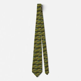 Van Gogh Field of Spring Wheat, Sunrise, Fine Art Tie