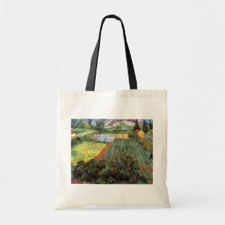 Van Gogh - Field with Poppies Budget Tote Bag
