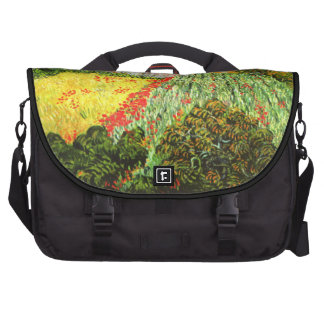 Van Gogh: Field with Poppies Laptop Commuter Bag