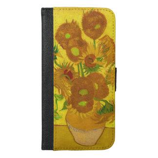 Van Gogh Fifteen Sunflowers In A Vase Fine Art iPhone 6/6s Plus Wallet Case