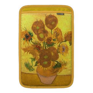 Van Gogh Fifteen Sunflowers In A Vase Fine Art MacBook Sleeve