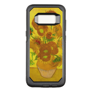 Van Gogh Fifteen Sunflowers In A Vase Fine Art OtterBox Commuter Samsung Galaxy S8 Case
