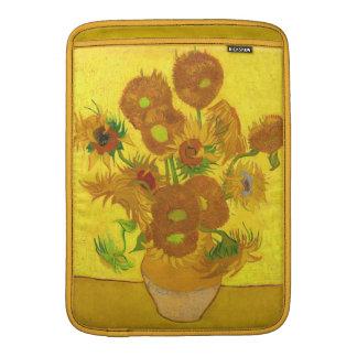 Van Gogh Fifteen Sunflowers In A Vase Fine Art Sleeve For MacBook Air