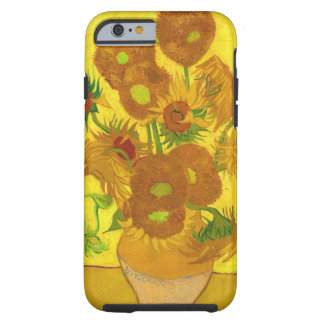 Van Gogh Fifteen Sunflowers In A Vase Fine Art Tough iPhone 6 Case